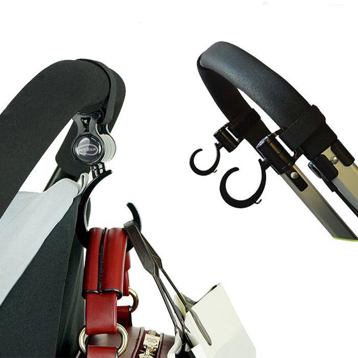 Stroller Hook Stroller Accessories Prams Hook Hanger for Baby Cart Carriage 2Pcs