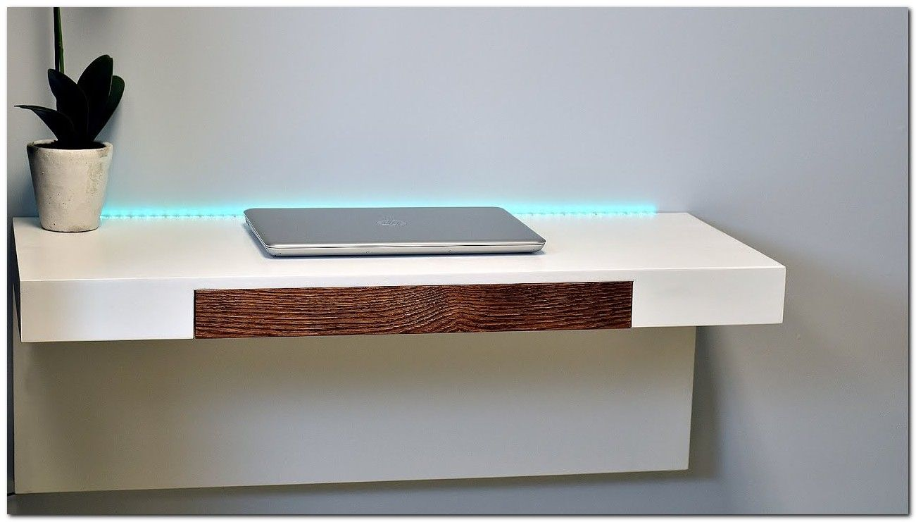 100 Modern Wall Mounted Desk Ideas The Urban Interior Wall Mounted Desk Wall Desk Floating Desk