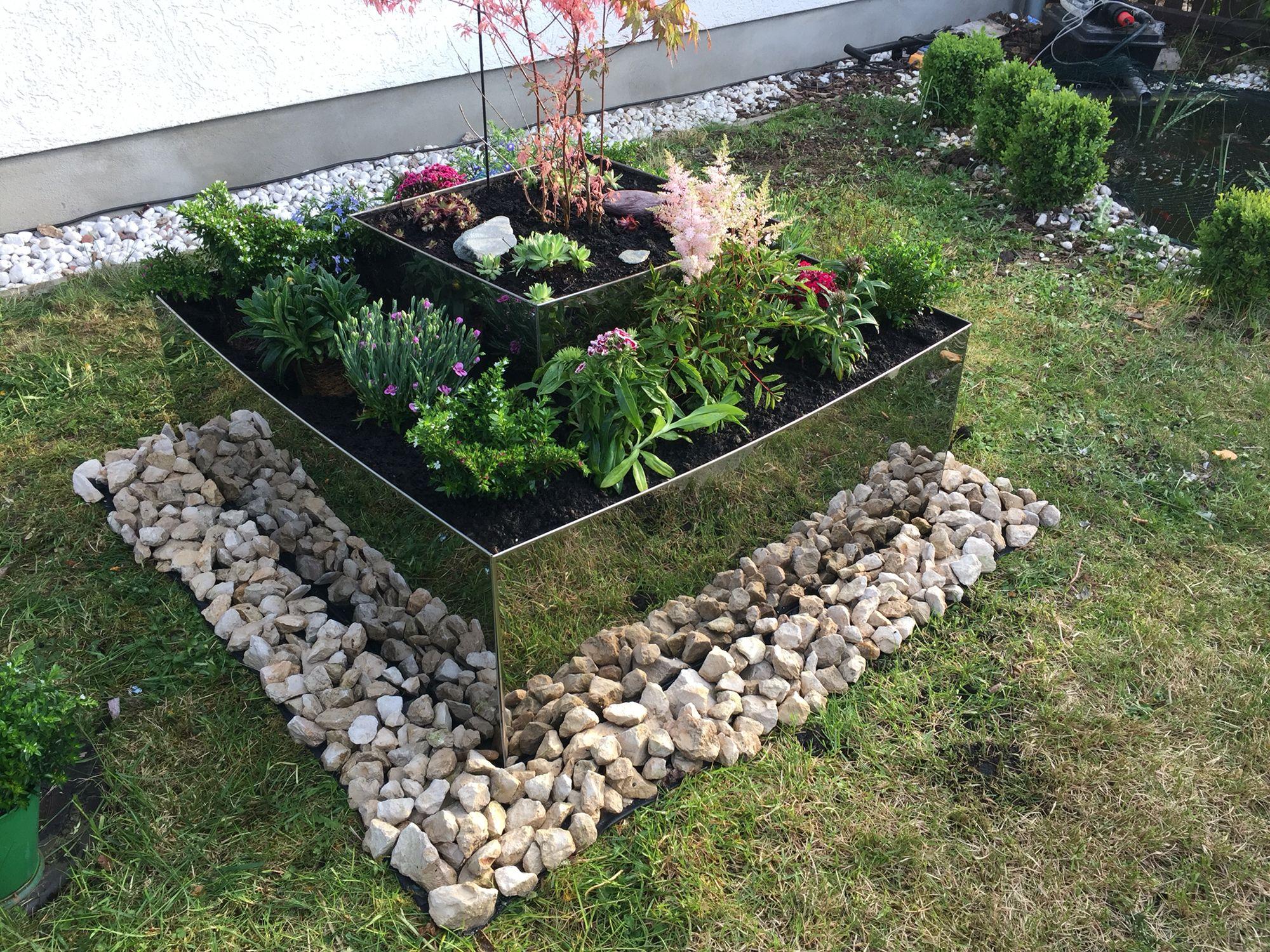 Garten Pyramide | Alu-Stahl-Blech | Pinterest | Stahl, Blech und Gärten