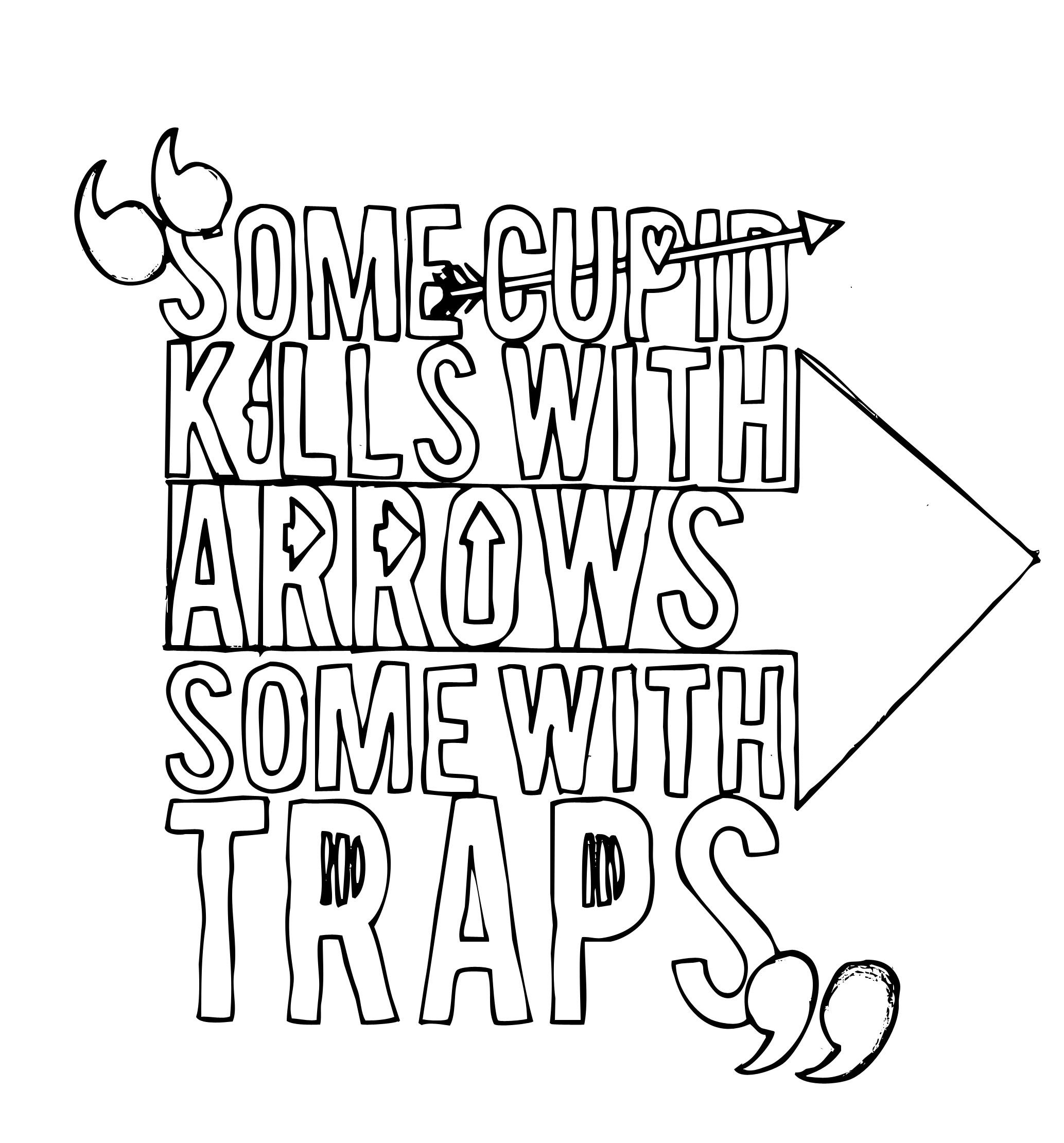 Hand-Drawn Shakespeare Typography