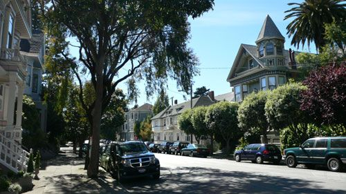 Cole Valley San Francisco Cole Valley Victorians San Francisco