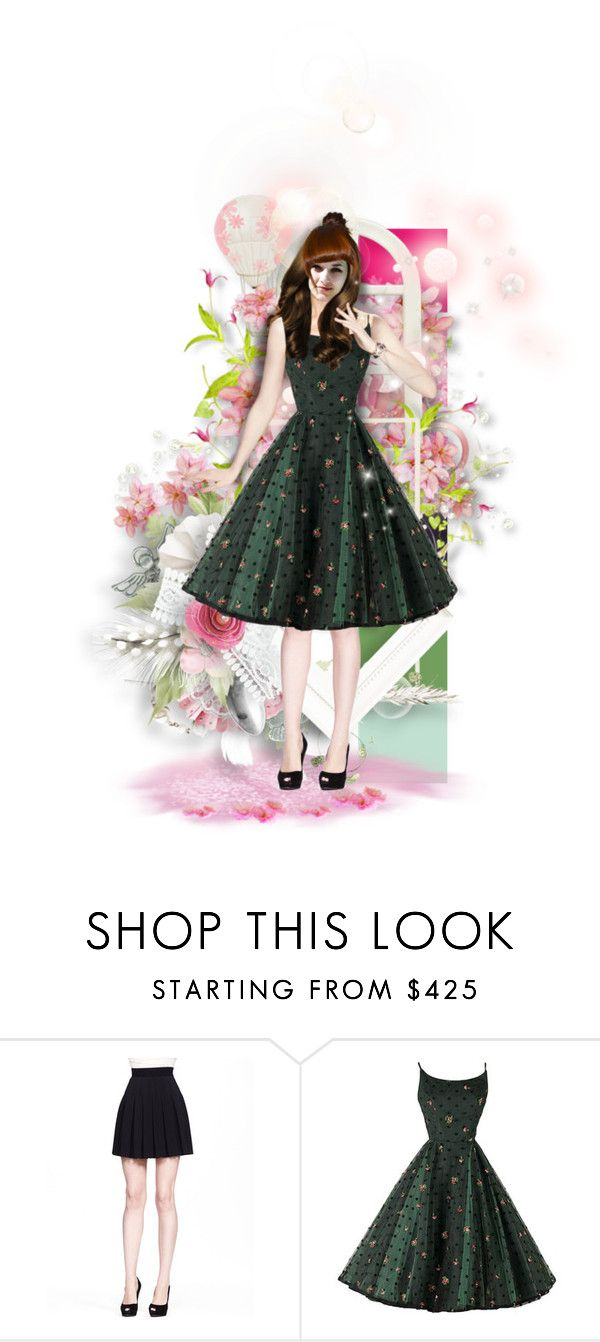 """""""roses"""" by sensitiveheart ❤ liked on Polyvore featuring Fantasia and Alexander McQueen"""