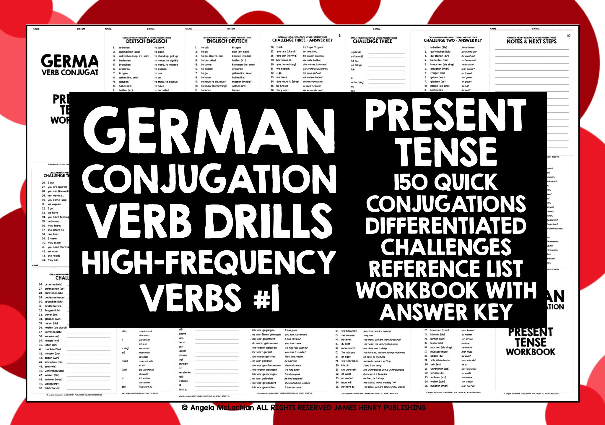 How to conjugate German regular verbs in the perfect tense