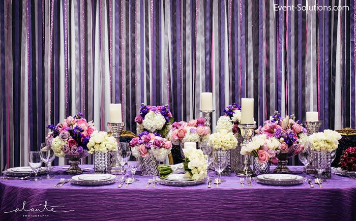 Loving The Sparkle In This Ribbon Backdrop Behind An Equaly