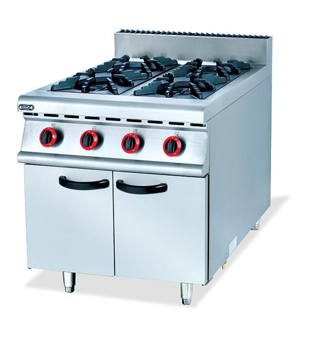 Restaurant Kitchen Gas Stove commercial four stand gas kitchen stove food frying stove lpg