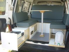 Mini Camper Para Partner Berlingo Y Kangoo 9 800 00 Mini Camper Camper Van Conversion Diy Travel Camper