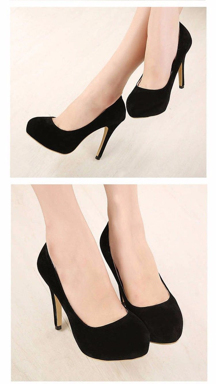 Just 3 to 3-1/2 inch heels, not 4-1/