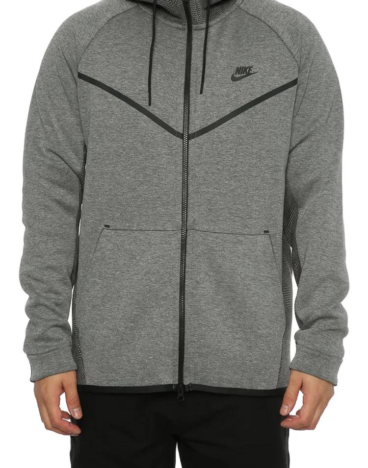 Nike Tech Fleece Windrunner Men's Printed Jacket Dark Grey