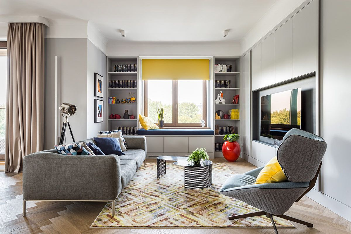 Beautifying Homes With Blue And Yellow Decor in 2020 (With ...