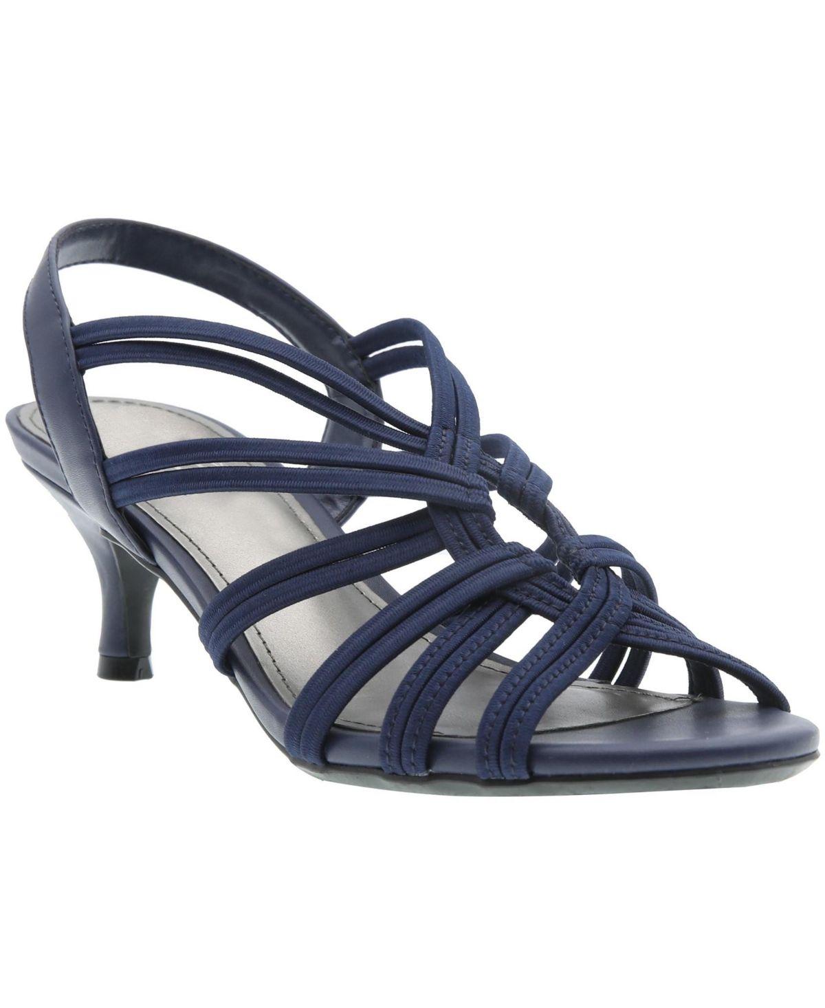 Impo Eileen Stretch Kitten Heel Dress Sandals Reviews Sandals Flip Flops Shoes Macy S In 2020 Dress Heels Dress Sandals Kitten Heels