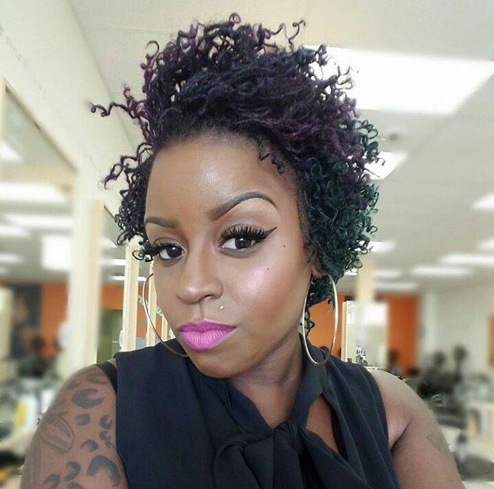 She Used Jbco On A Twa Twist Out But The Style She Got Out Of It