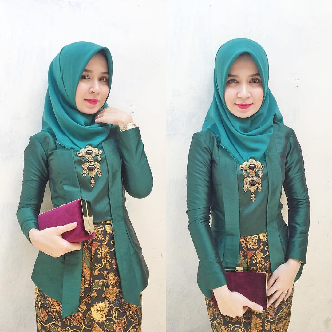 Nadia Husen บน Instagram Kebaya Kutubaru By Ristiara Dress