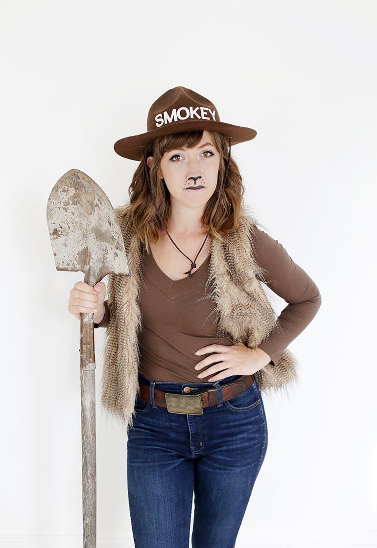 diy smokey bear costume | halloween & fall | pinterest | bear