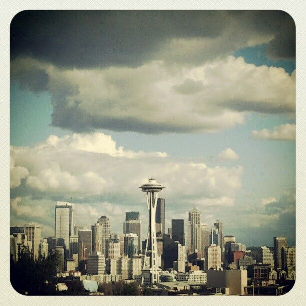 Kerry Park...one of the best viewpoints in Seattle.