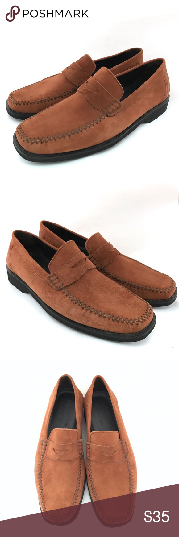 8fe08112ac1 ET Wright Men s 10 EEE Extra Wide Penny Loafers Brand  E.T. Wright Style   Penny