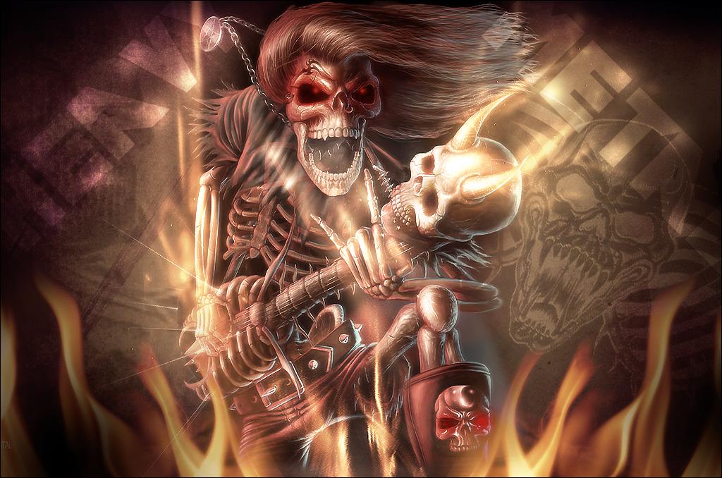 Heavy Metal Wallpaper, Background, Theme, Desktop   Favoritos
