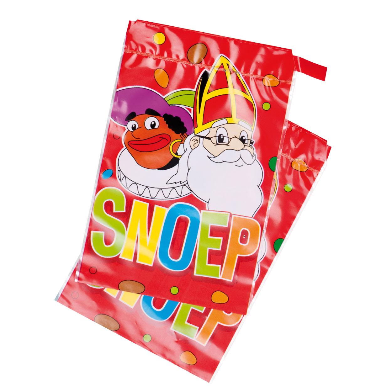 Snoepzakjes Sint En Piet, 6st.