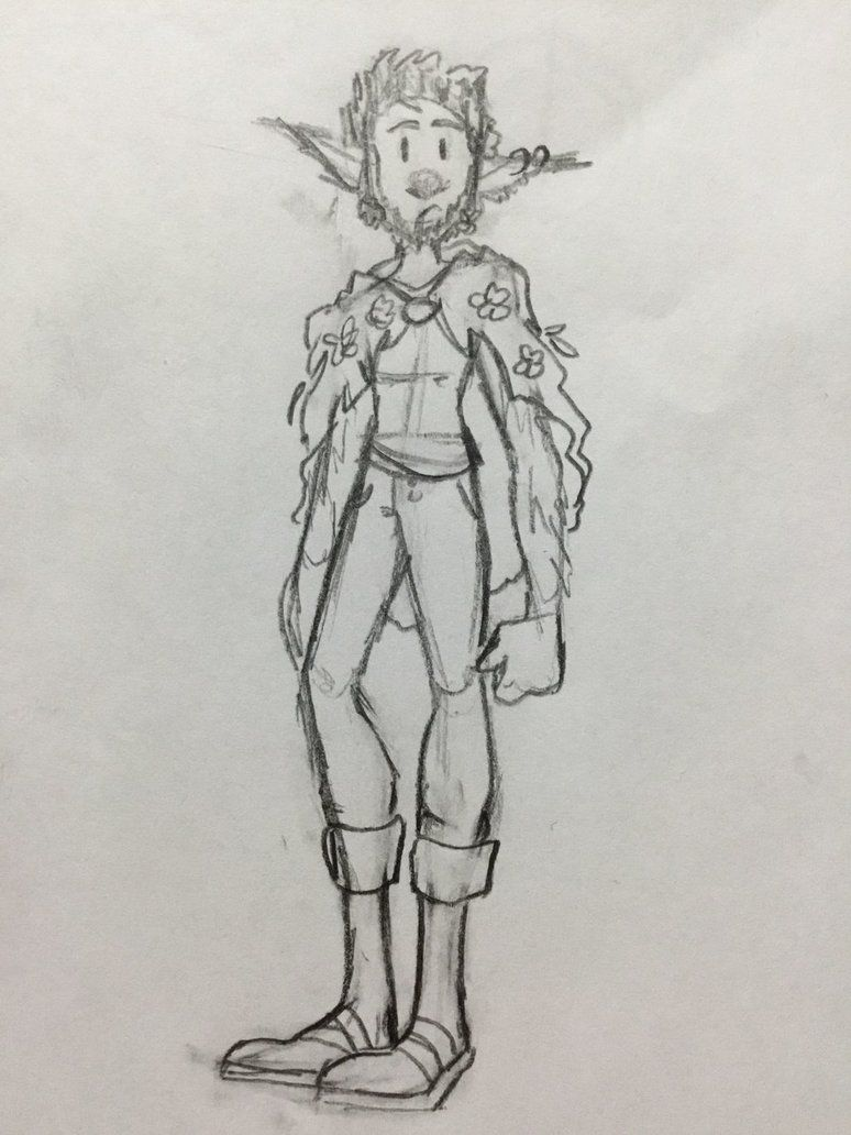 A Simple Firbolg By Againstthedm A Simple D D Sketch For A Simple