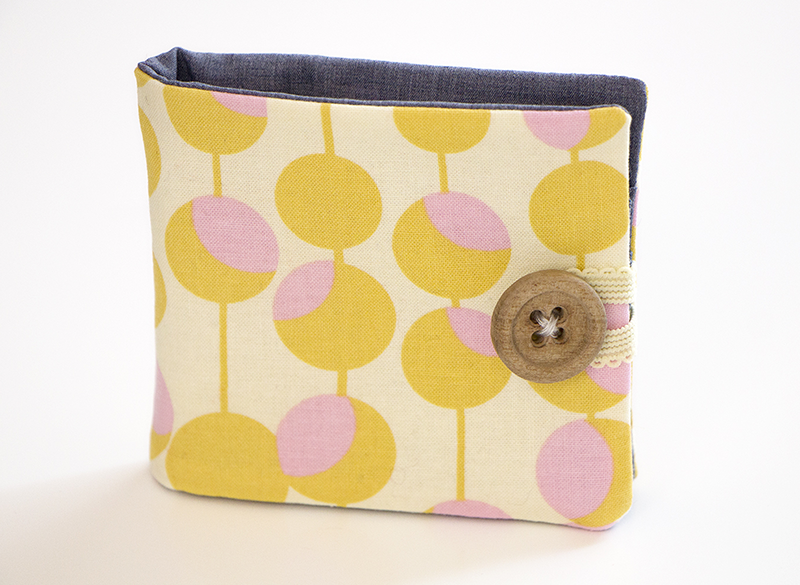 How to sew a fabric wallet | Step 10 | Free sewing pattern | Mollie ...