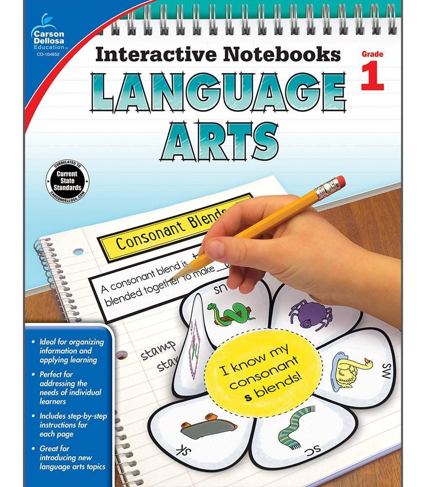 Interactive Notebooks Language Arts Resource Book