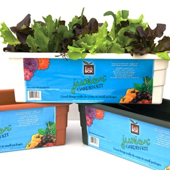 Meet the newest member of the EarthBox® family! This compact-sized EarthBox Junior™ is just like the original gardening system with the same smart technology, but only half the size and specifically designed for smaller spaces! It is the perfect size for growing a kitchen herb garden and is ideal as a pretty window box with flowers. Good things really do come in small packages!
