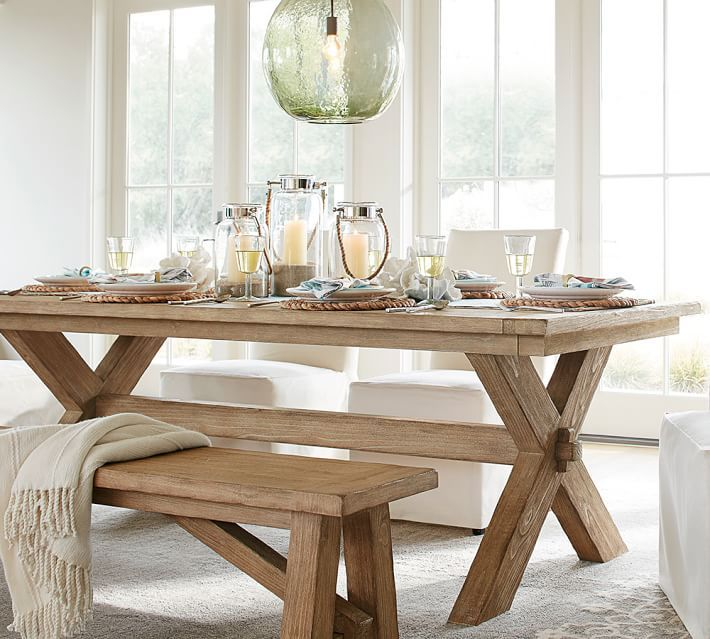 Toscana Extending Dining Table Seadrift Dining Table With Bench