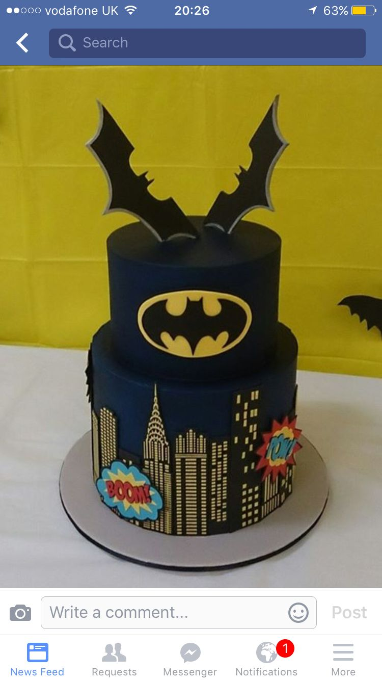 Amazing batman cake Partys Pinterest Batman cakes Batman