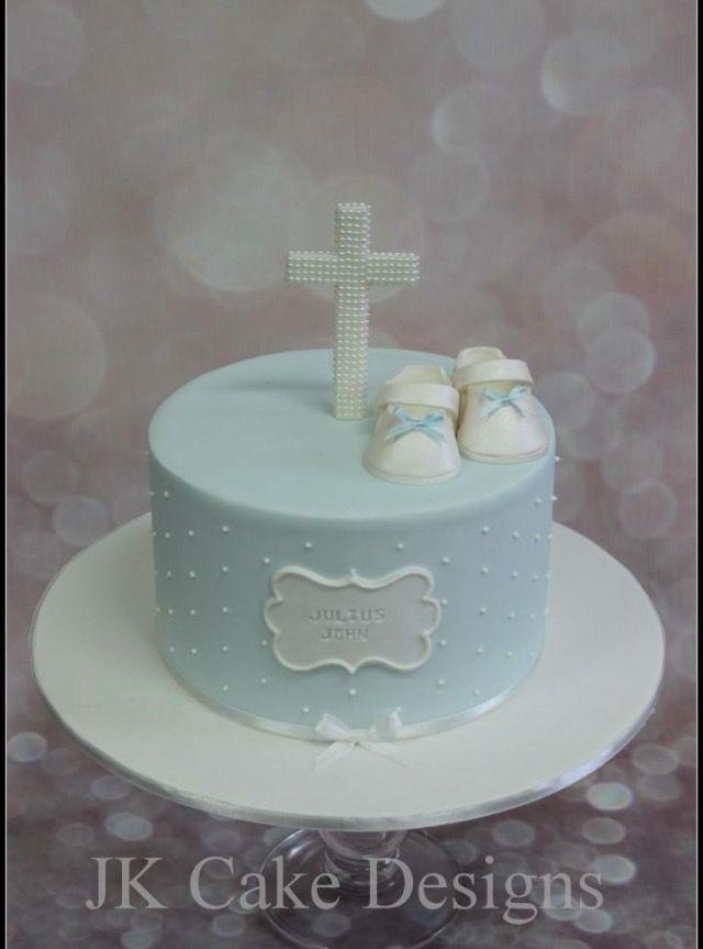 Christening Cake For A Boy Christening Cake Boy