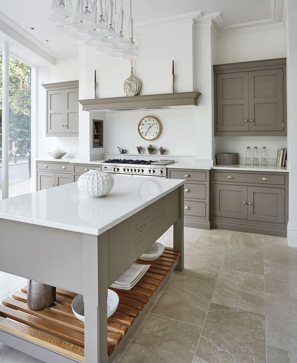 New Kitchen Flooring Ideas: Tom Howley New Harrogate Showroom