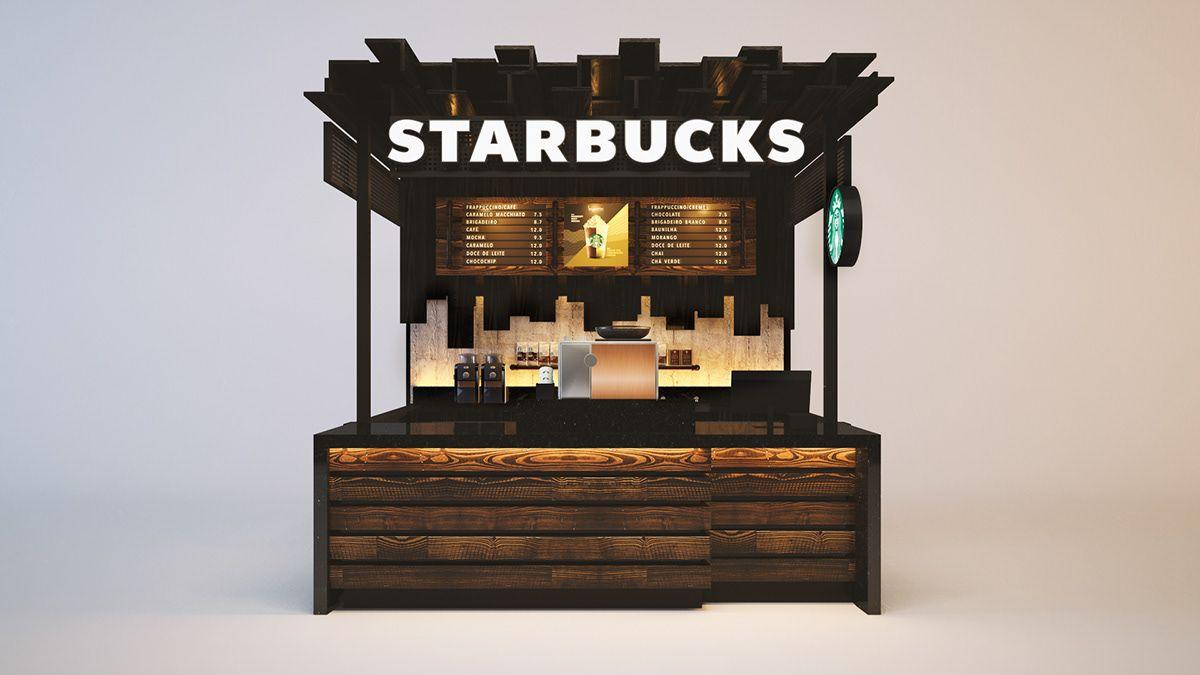 Starbucks on Behance in 2020 Starbucks, Starbucks design