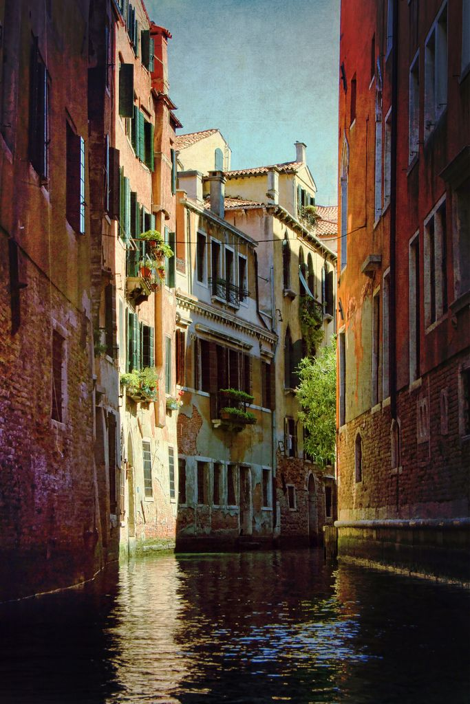 Marvellous Play Of Colours. The Stunning Lights Of Venice.