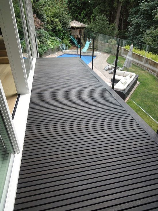 Deck Stain Colors Dark Pictures Timber