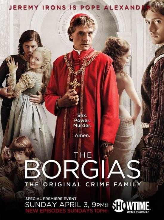 Os Borgia Cartazes De Filmes The Borgias Filmes