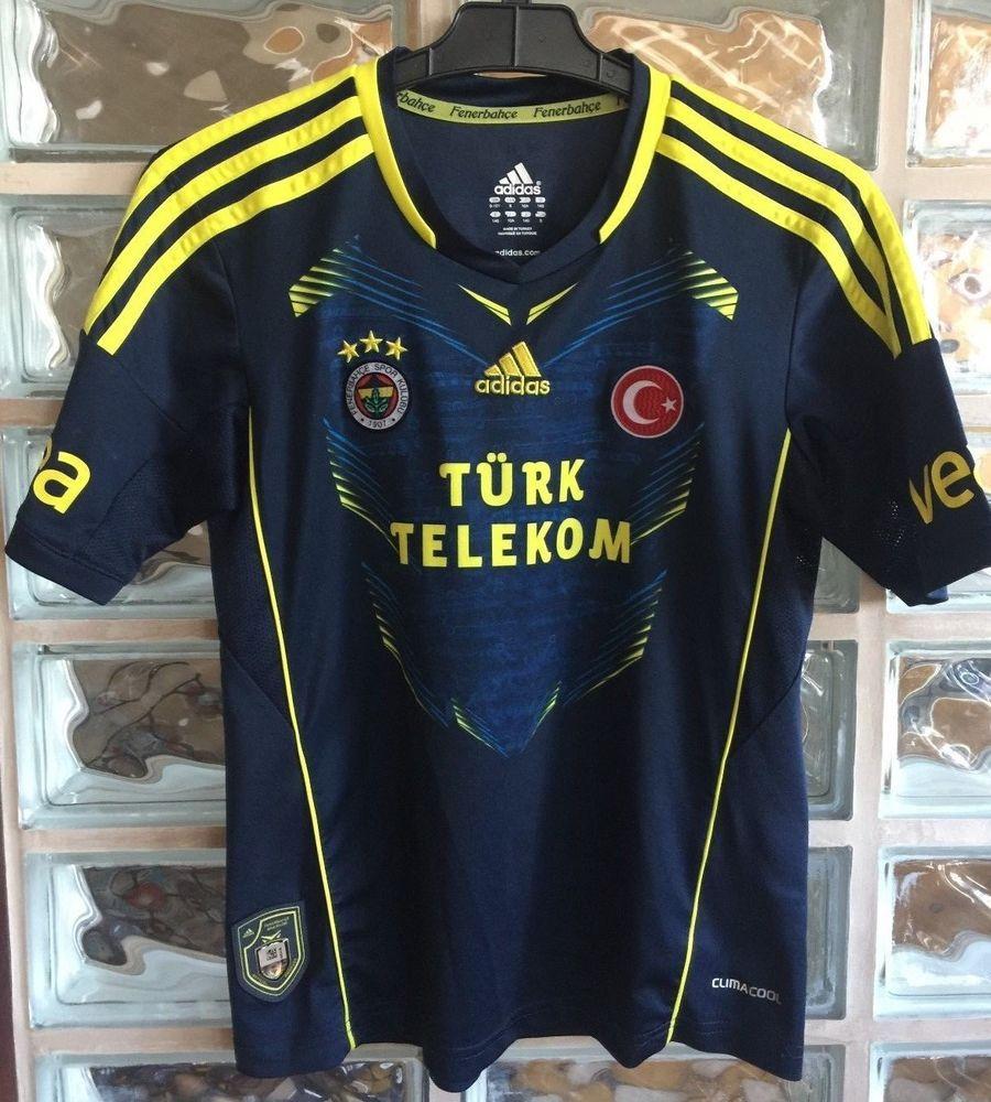 FENERBAHCE Football shirt Home 2012 13 Soccer Jersey Trikot Camiseta  Maillot YTH  adidas 58a6227b668e9