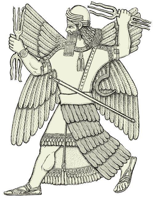 Nimrud - Ninurta, Sumerian god