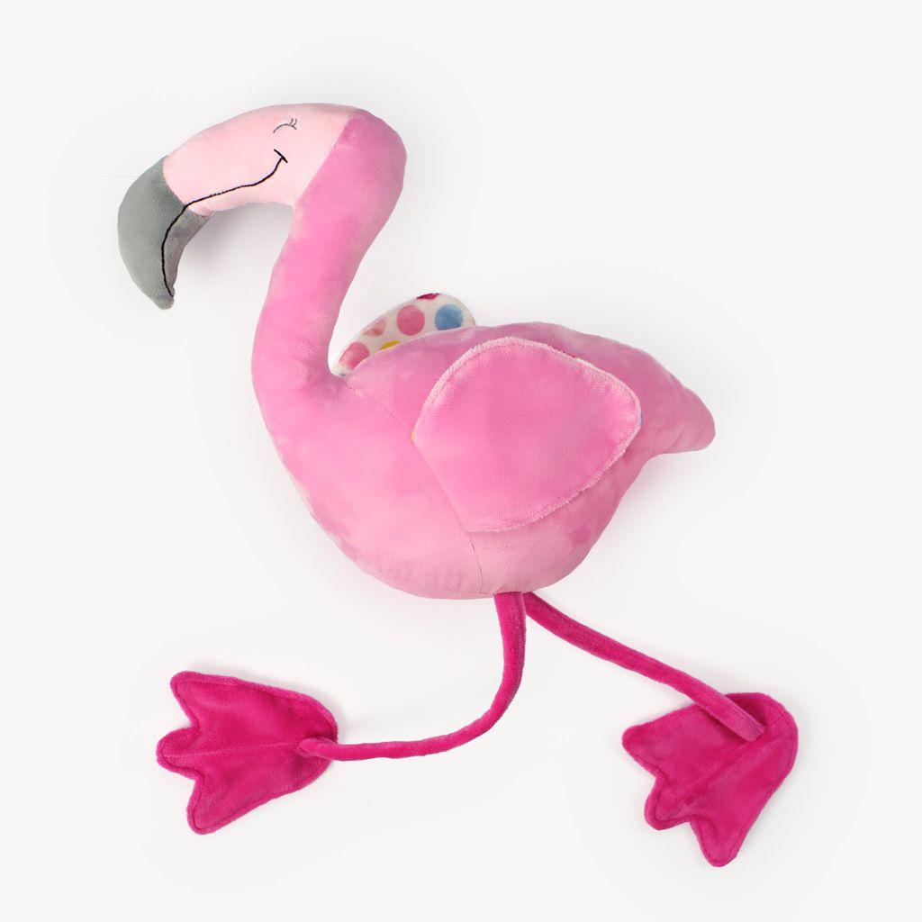 Flamingo nähen: Schnittmuster \