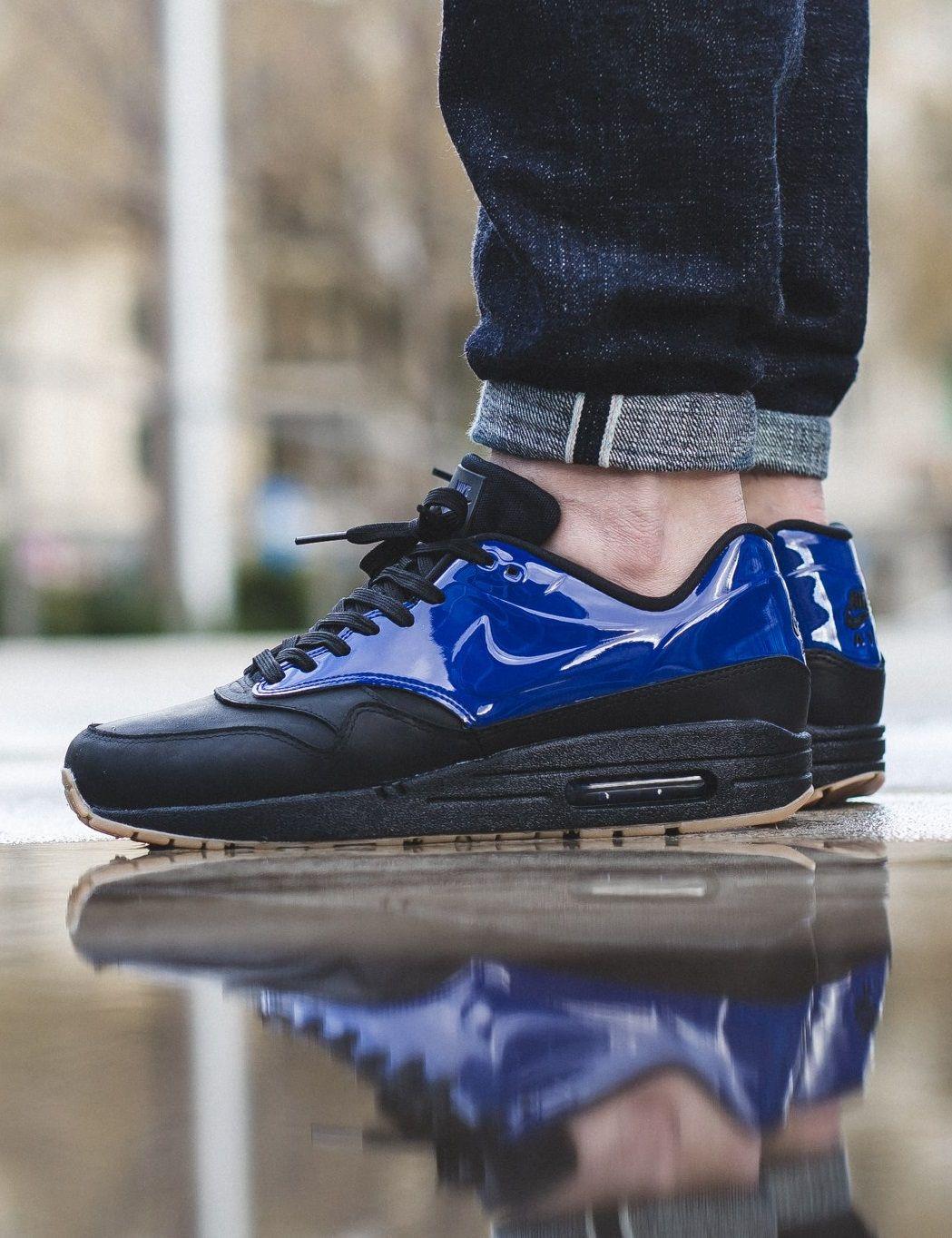 Nike Air Max 1 Vac Tech Blue/Black Nike air max