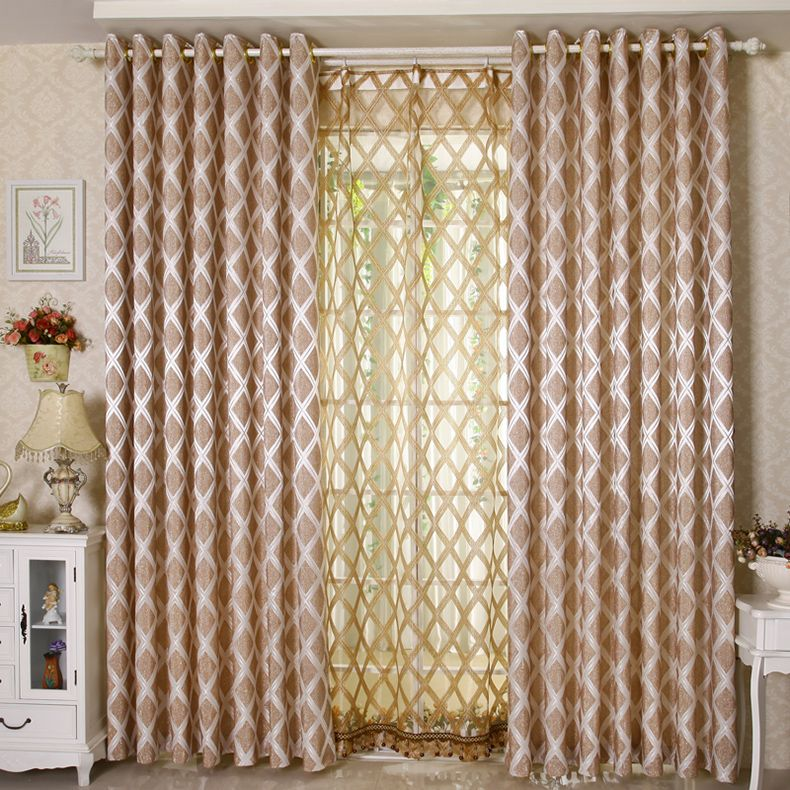 Beautiful Curtains For Living Room.