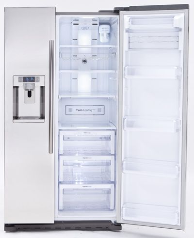 Samsung RS22HDHPNSR refrigerator Locker storage