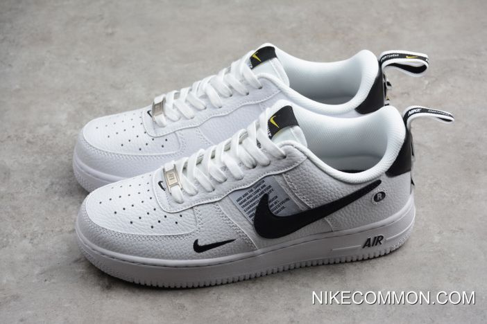 WomenMen New Year Deals Nike Air Force 1 '07 Low White