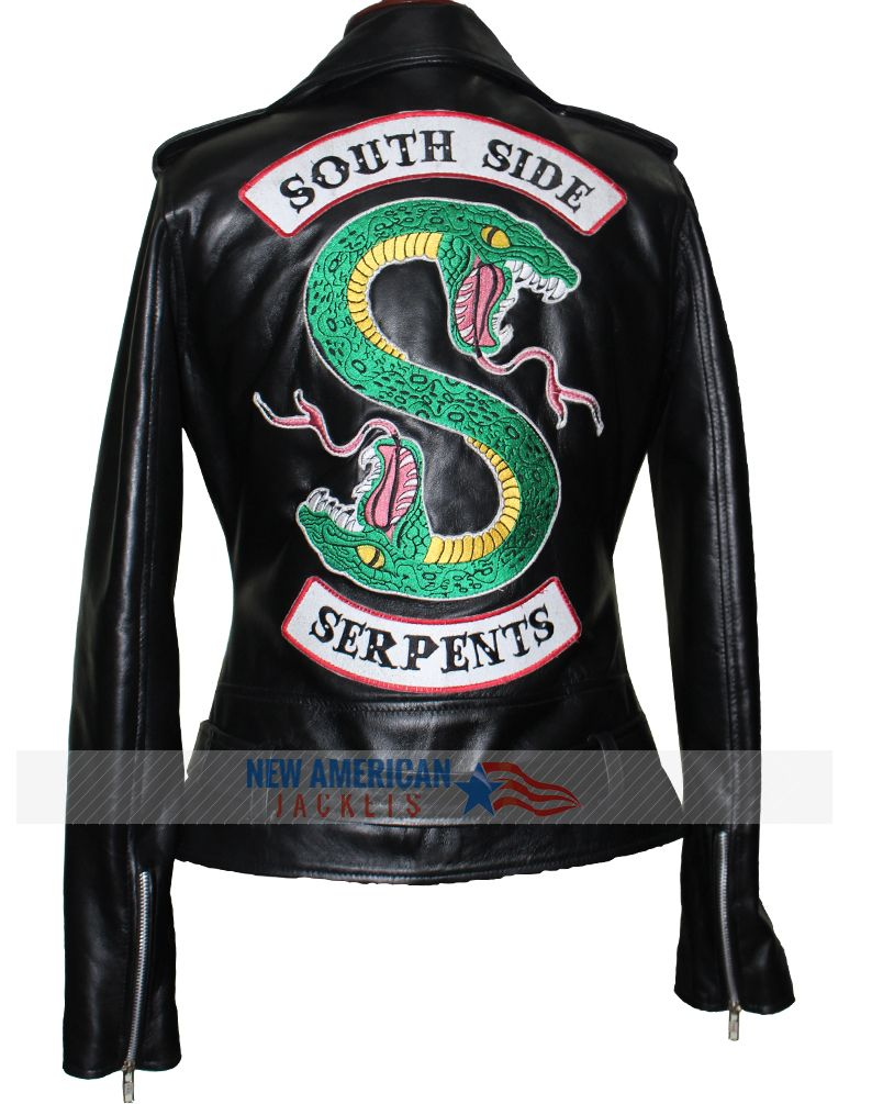 c83ae13f7934 Riverdale southside serpents leather jacket for Women now avilable at  newamericanjackets.com