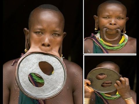 Largest Lip Plate: Woman with the World's Biggest Lip Disc ...