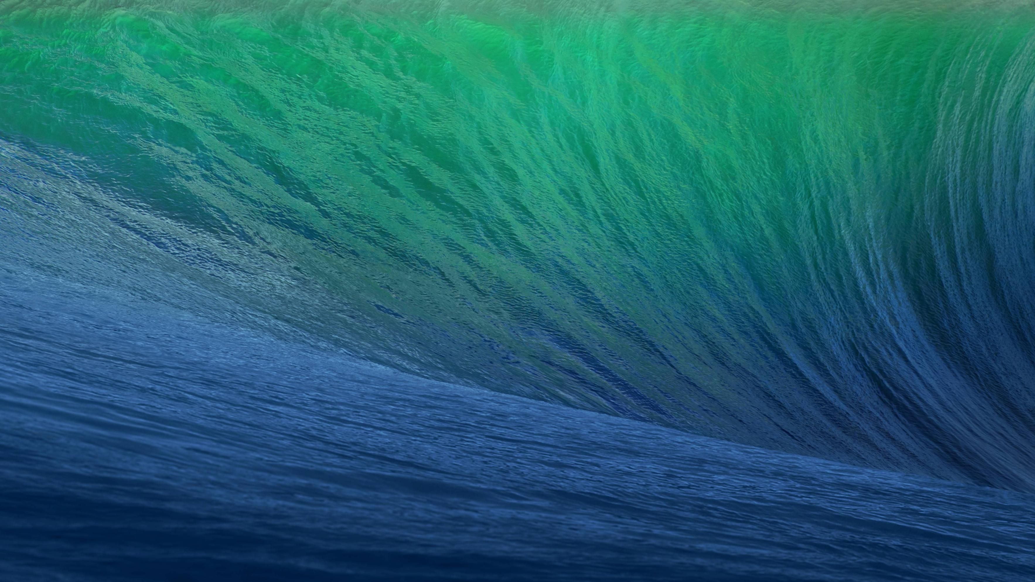 get the default os x mavericks wave wallpaper