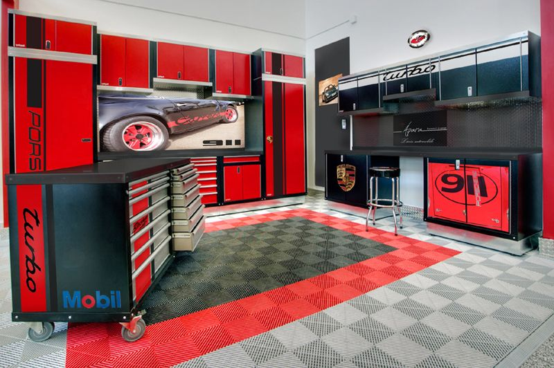 img externe moto ducati garage atelier revetement. Black Bedroom Furniture Sets. Home Design Ideas