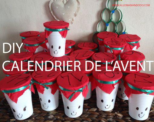 Diy Le Calendrier De L Avent Original Video Calendrier De
