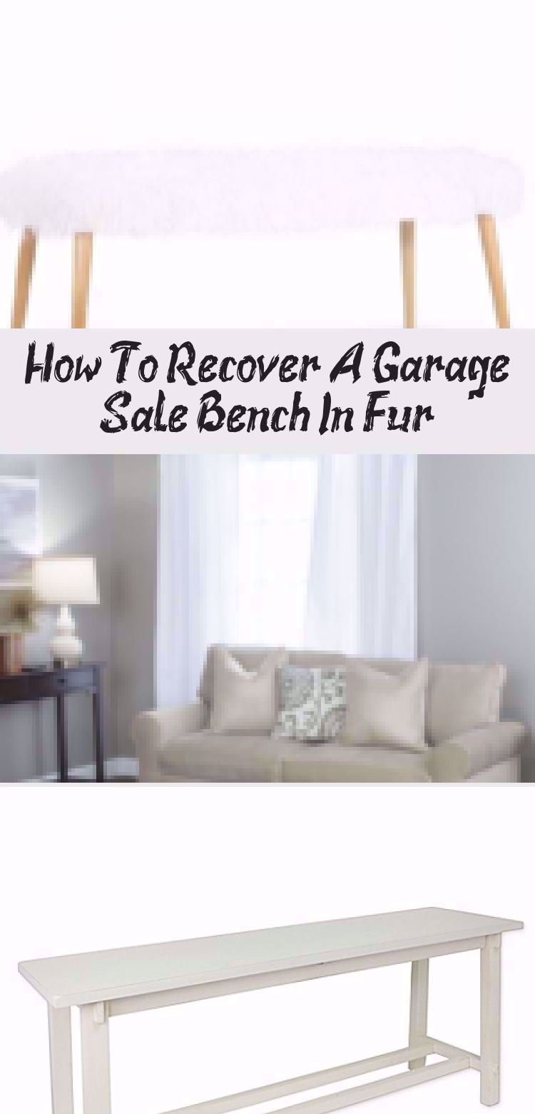 DIY Gray Faux Fur Bench by Jennifer Allwood   Luxe and LiVed in   Comfy Glam Style   Home Decor Ideas   Boho Office Decorating Ideas   Grey   Faux Fur Bench Cover   Upcycle   Bench Upgrade   #garagesalefind #thriftstorefind   Thrift Store DIY   Faux Fur Bench DIY   #glam #homedecor #decoratingideas #DIY #diyhomedecor #howto #boho #recycle #repurpose #upcycle #HomeDecorDIYRecycle