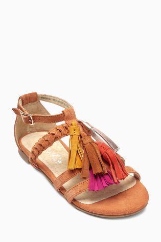 Buy Ginger Tassel Sandals (Older Girls