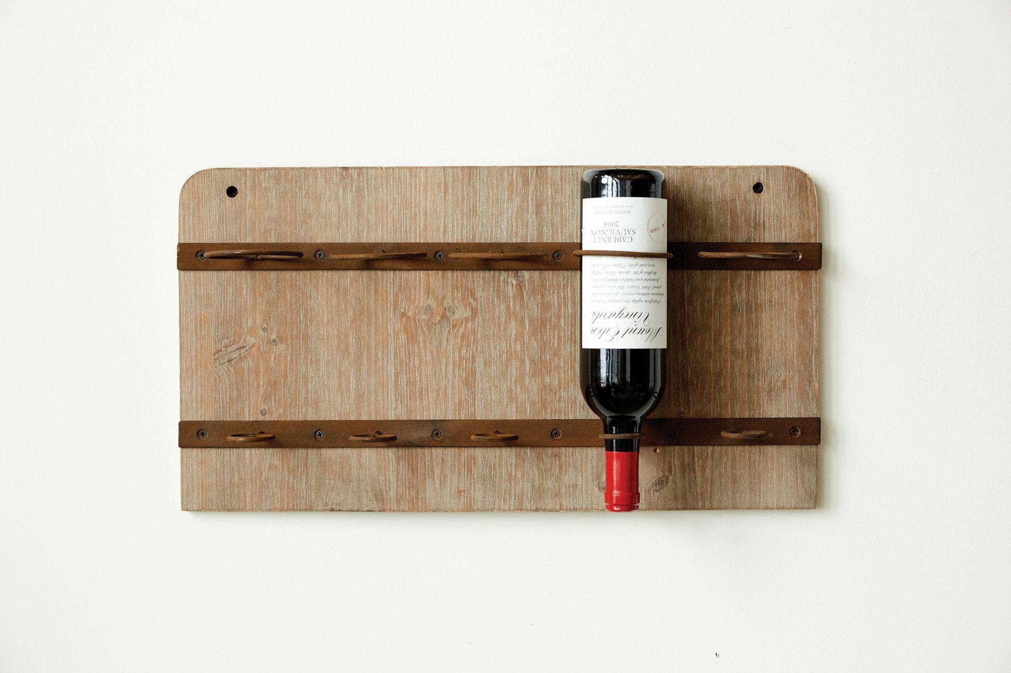 Sonoma Wall Mount Wine Rack