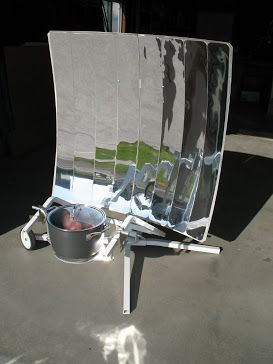 Efficient Solar Cooker Great For Camping Emergencies