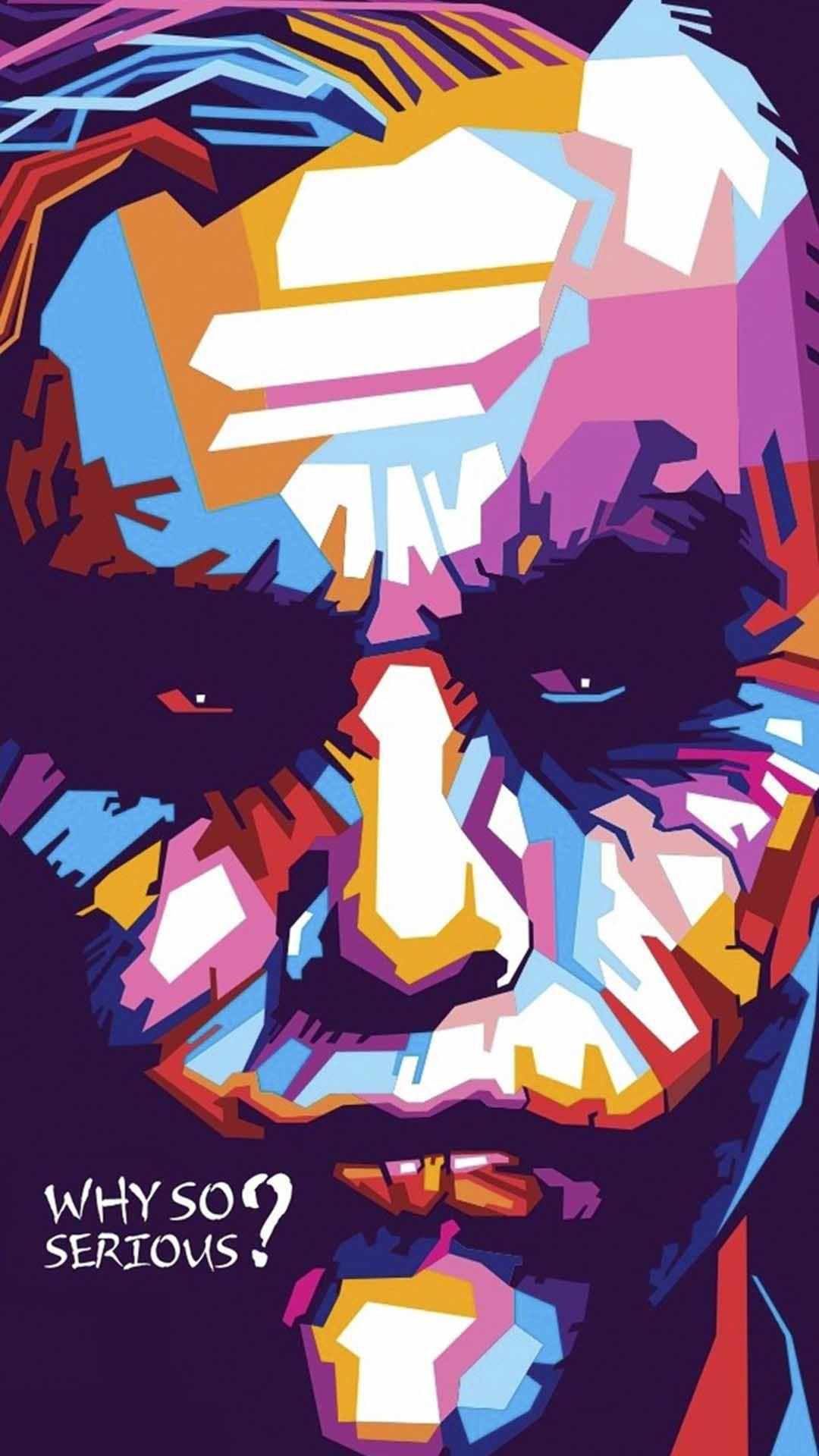 Why so serious? Joker iphone wallpaper, Joker artwork